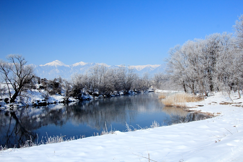 犀川ダム湖
