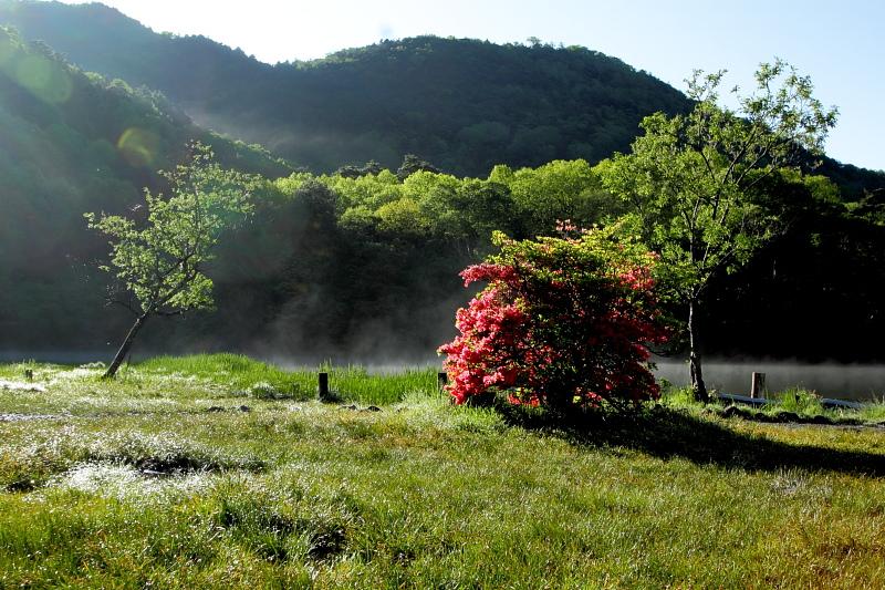 湯の湖よ目覚め