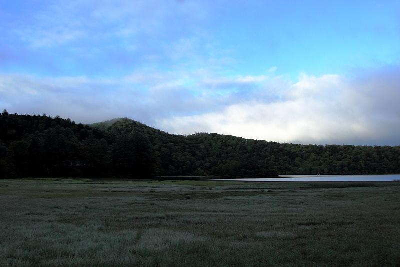尾瀬沼の朝