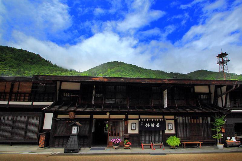 奈良井宿の旅籠
