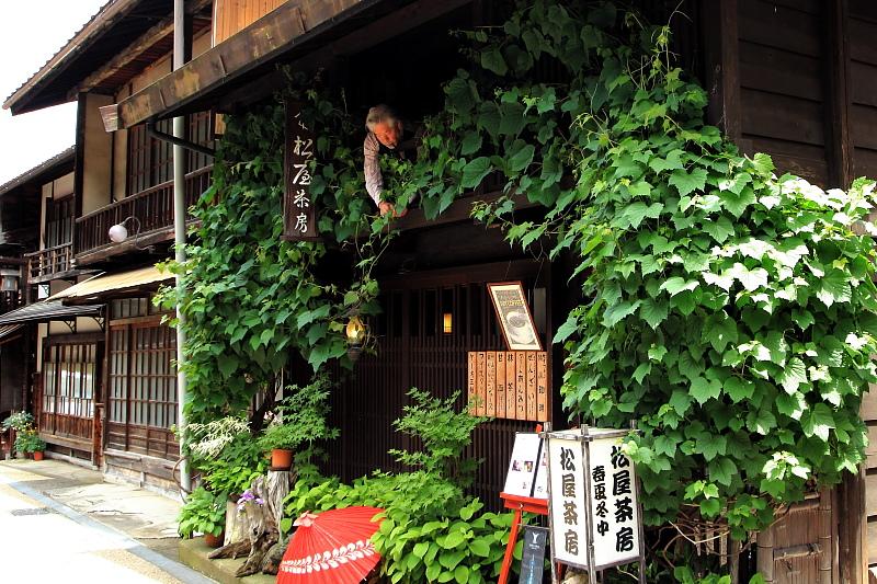 ツタの絡まる喫茶店