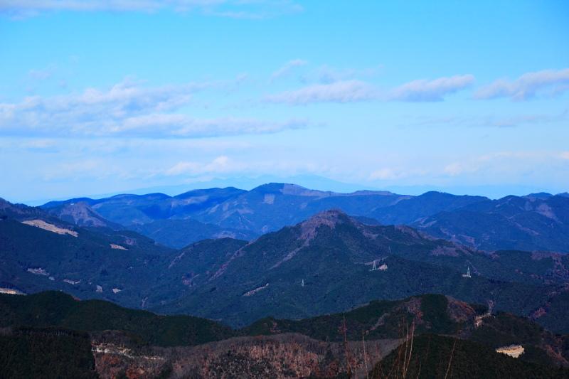 棒の折山からの展望