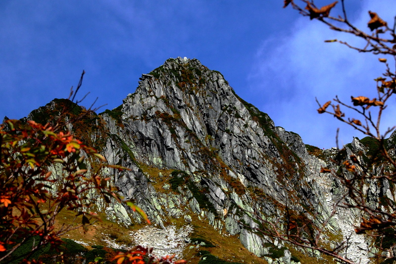 宝剣岳山頂