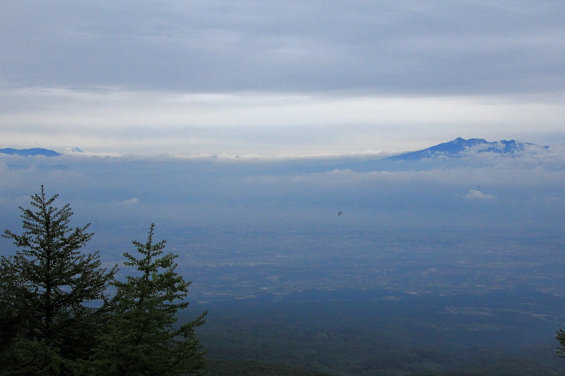 標高2000mからの眺望