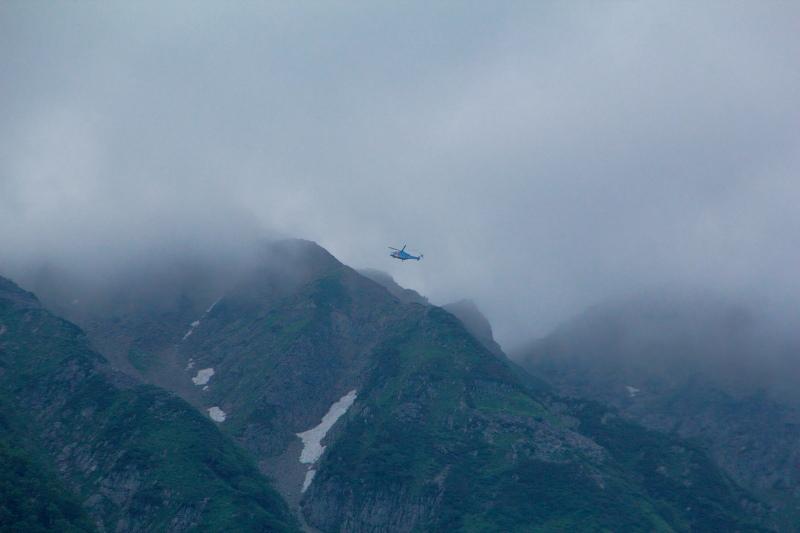 山岳救助ヘリ