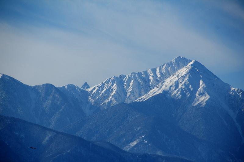 冠雪の北アルプス