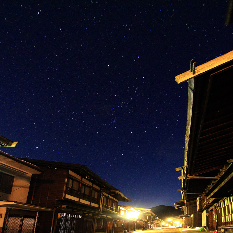 凍える夜、冴えわたる空