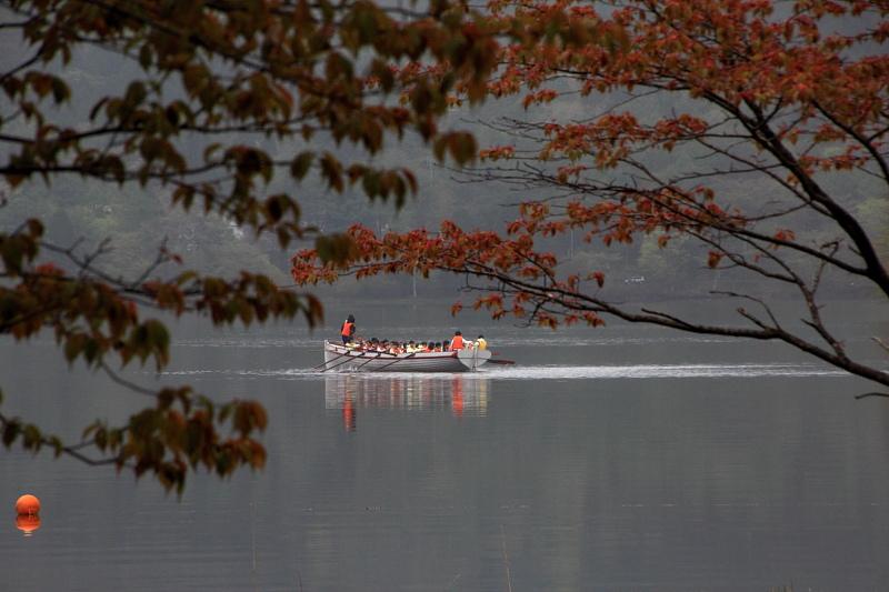 湖上の訓練